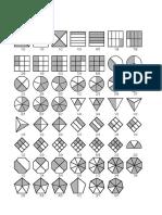 Representacion de Fracciones