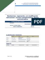 024 Mantencion Correas Trasportadoras.doc Ver0