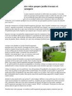 Les avantages de faire votre propre jardin travaux et aménagements paysagers