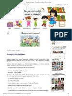 Amigos Não Brigam! - Contos Para Criança Ler, Ouvir e Sonhar!