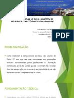 PRODUÇÃO TEXTUAL NO CICLO I