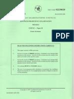 Physics Unit2 Paper2- June2008