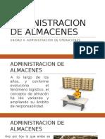 Administracion de Almacenes