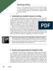 Nunan, Principles for Teaching Writing