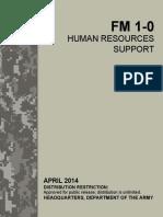 FM 1-0 Human Resourdes Support