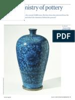 Chemistry of Pottery