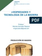 Clase Prop y Tec Madera