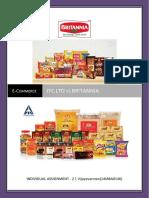 7c of ecommerce britannia and  ITC