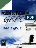 Revista de Psicología GEPU 5 (2)