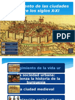 Surgimiento de Las Ciudades en El Siglo X-XI-Power Point