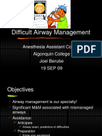 AA Course-Difficult Airway1