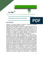 Globalizacion, Desarrollo y Modernidad