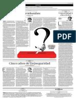 Incertidumbre. La Importancia de La Institucionalidad - El Comercio_2016!01!09