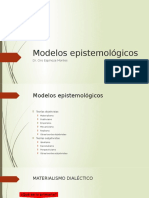 3. Modelos epistemológicos