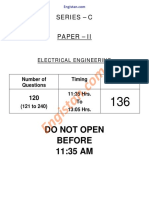 136 Electrical Engg. Paper-II FCI 17-11-2013 C SERIES Engistan.com