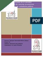 Resumen de Las Normas Internacionales Para El Ejercicio Profesional de La Auditoria Interna