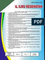 Jurnal Ilmu Kesehatan Vol 3 N0 2.