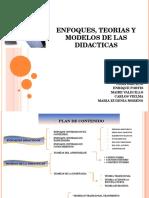 Enfoques, Teorias y Modelos de Las Didacticas