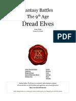 The Ninth Age Dread Elves 0 11 0