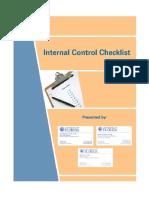 UF Internal Control Checklist