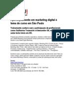 ikeda e-Commerce - IDG Now - 01_04 - Aperfeiçoamento em marketing digital é tema de curso em São Paulo