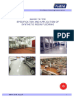Selection and Specification of Resin Floors