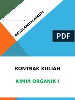 Kontrak Kuliah_kimia Organik 1