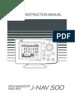 j Nav500 Instr