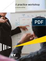 Financial Model Best Practice Workshop