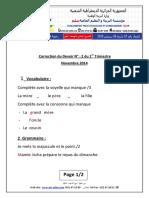 corrigé Composition francais n° 02 2AP 2014(1)