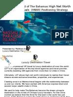 Bahamas- China Tourism Marketing Outlook