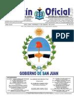 Boletin Oficial (ENERO) 08-01-16 San Juan