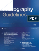 Photography Guidelines 2014