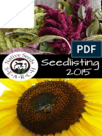 Seedlisting Catalog