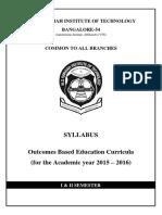 1st Semester Syllabus 2015 16
