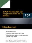 8-PSK Modulación Por Desplazamiento de Fase de 8
