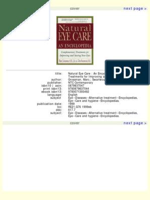 Natural Eye Care | Traditional Chinese Medicine | Vitamin