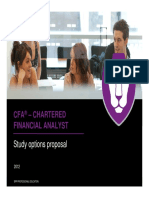 CFA L1 Training Package 2012