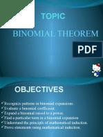 L10 Binomial Theorem