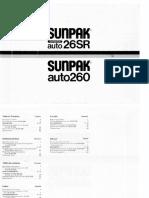 SUNPACK auto260 vaku