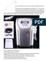 Ipl System Hair Removal Skin Rejuvenation Machine New