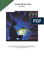 Z88 User Guide V4