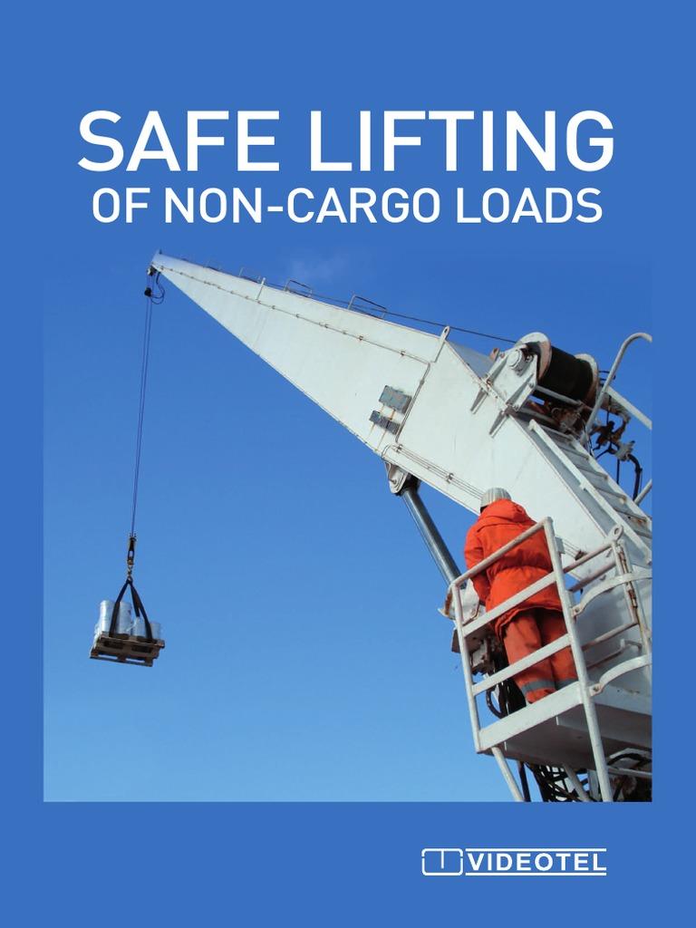 Safe Lifting of Non-Cargo Loads | Elevator | Crane (Machine)