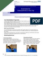 176 Exercises for OA of Hip v1