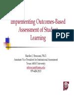 1.OBSL Assessment Implementation