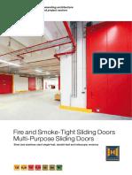 Fire and Smoke Fire_and_smoke_tight_sliding_doorsTight Sliding Doors Mutli Purpose Doors 86038 En