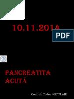 Pancreatite Acute