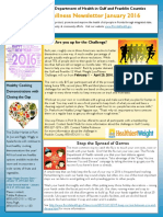 The Gulf/Franklin January 2016 Wellness Newsletter