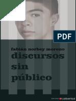 Discursos Sin Publico - FABIAN NORBEY MORENO