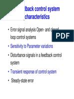 EEE338A FeedBack Characteristics